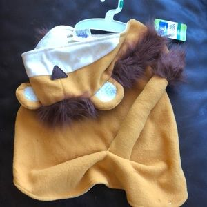 Large Top Paw Lion Dog Costume